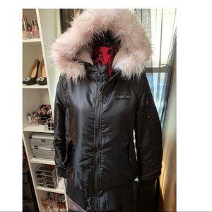 Bebe bomber jacket sz XL